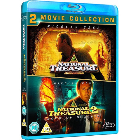 National Treasure & National Treasure 2: Book of Secrets [Blu-Ray Box Set]