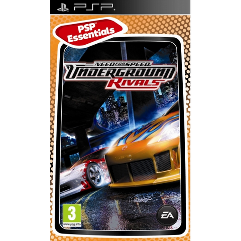 Need for Speed: Underground - Rivals [Sony PSP]