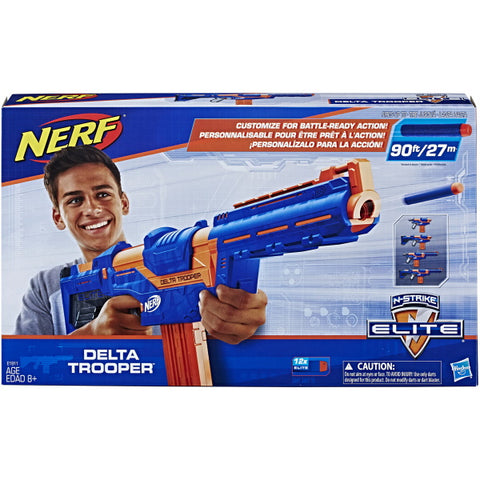 Nerf N-Strike Elite Delta Trooper [Toys, Ages 8+]
