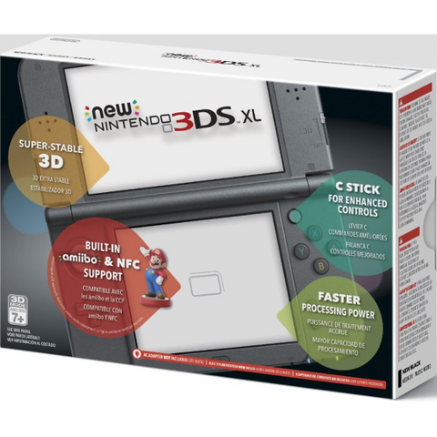 NEW Nintendo 3DS XL - Black [NEW Nintendo 3DS XL System]