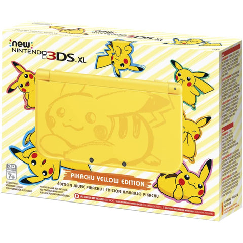 NEW Nintendo 3DS XL - Pikachu Yellow Edition [NEW Nintendo 3DS XL System]