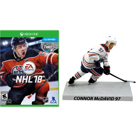 NHL 18 - Limited Edition McDavid Figure Bundle [Xbox One]
