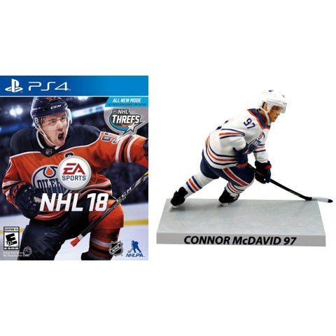 NHL 18 - Limited Edition McDavid Figure Bundle [PlayStation 4]