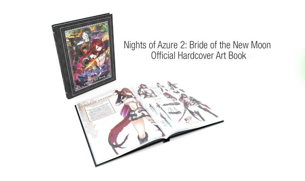 Nights of Azure 2: Bride of the New Moon - Limited Edition [Nintendo Switch]