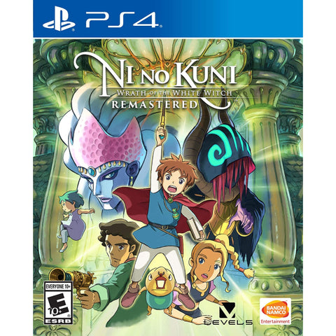 Ni no Kuni: Wrath of the White Witch Remastered [PlayStation 4]