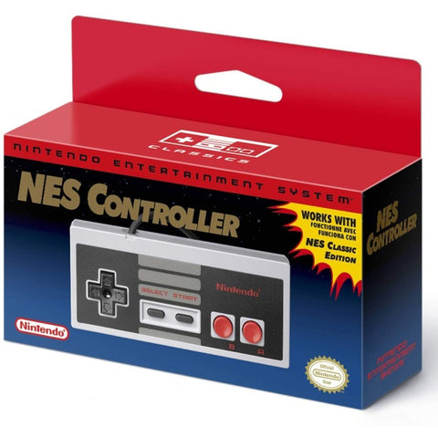 Nintendo Entertainment System NES Classic Mini Wired Controller [Retro Accessory]