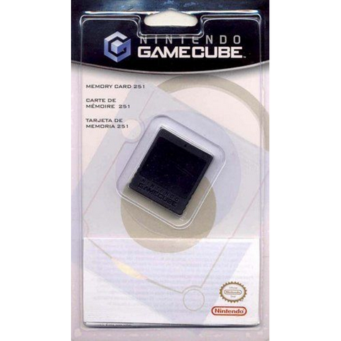 Nintendo GameCube Memory Card 251 [GameCube Accessory]