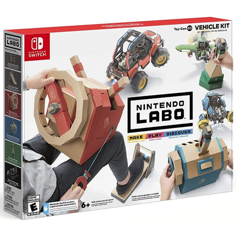 Nintendo Labo Toy-Con 03: Vehicle Kit [Nintendo Switch]