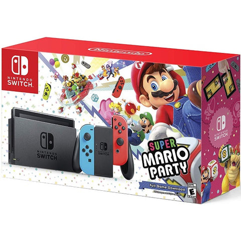Nintendo Switch Console - Super Mario Party Download Bundle Edition [Nintendo Switch System]