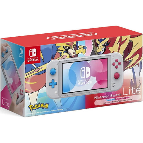 Nintendo Switch Lite Console - Zacian and Zamazenta Limited Edition [Nintendo Switch System]