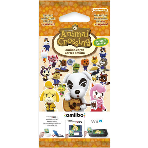 Nintendo Animal Crossing Amiibo Cards - Series 2 - 3 Card Pack [Nintendo Accessory]