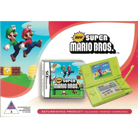 Nintendo DS Lite Console - Green - Includes New Super Mario Bros [Nintendo DS DSi System]