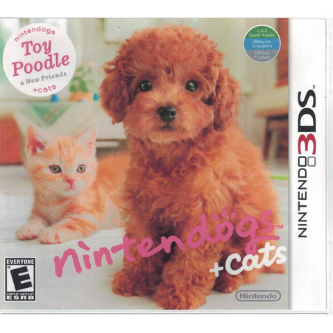 Nintendogs + Cats: Toy Poodle & New Friends [Nintendo 3DS]