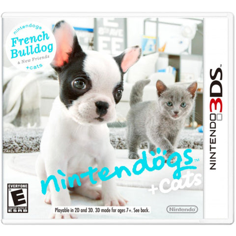 Nintendogs + Cats: French Bulldog and New Friends [Nintendo 3DS]