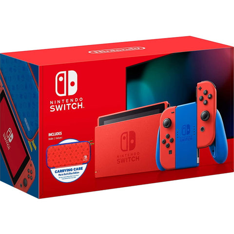 Nintendo Switch Console - Mario Red & Blue Edition [Nintendo Switch System]