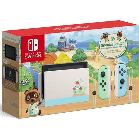 Nintendo Switch Console - Animal Crossing: New Horizons Edition [Nintendo Switch System]
