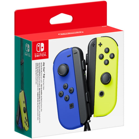Nintendo Switch Joy-Con Controller Pair - Neon Blue & Yellow [Nintendo Switch Accessory]
