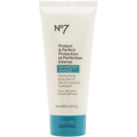 No7 Protect & Perfect Intense Advanced Moisturising Body Serum - 200mL / 6.7 fl oz [Beauty]