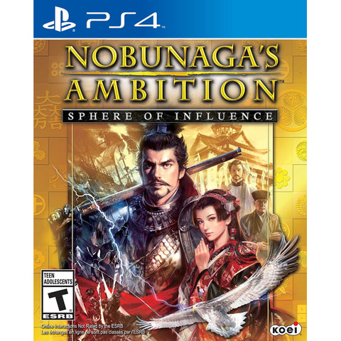 Nobunaga's Ambition: Sphere of Influence [PlayStation 4]