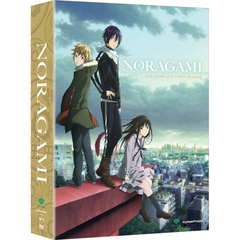 Noragami: The Complete First Season - Limited Edition [Blu-Ray + DVD Box Set]