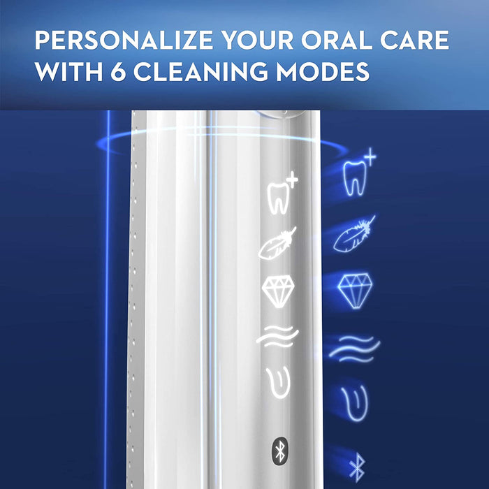 Oral-B Genius X 10000 Electric Rechargeable Toothbrush - White [Healthcare]