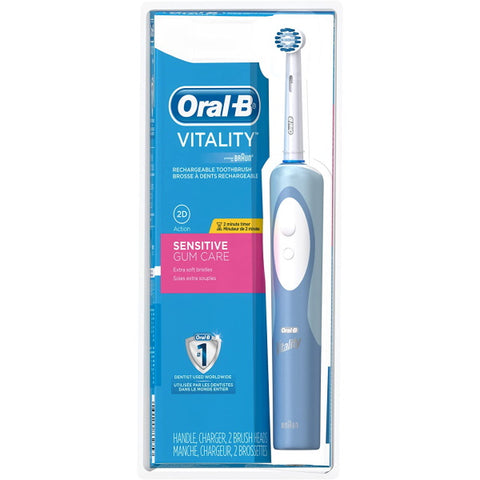 Oral-B Vitality Sensitive Gum Care Electric Rechargeable Toothbrush [Healthcare]