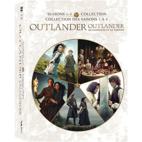 Outlander - Seasons 1-5 Collection [DVD Box Set]