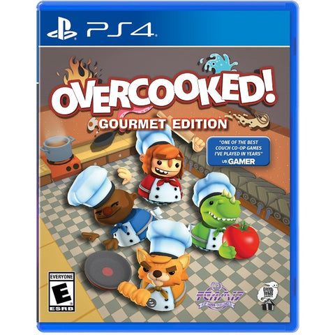 Overcooked!: Gourmet Edition [PlayStation 4]