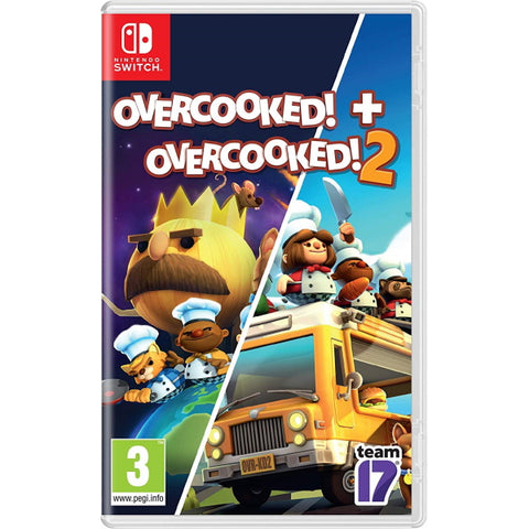 Overcooked! + Overcooked! 2 [Nintendo Switch]