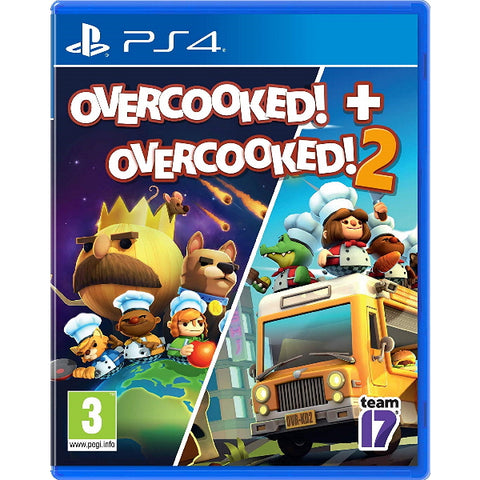 Overcooked! + Overcooked! 2 [PlayStation 4]