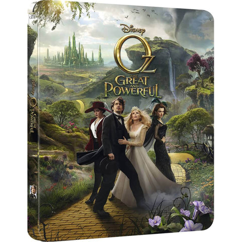 Oz the Great and Powerful - Limited Edition SteelBook [3D + 2D Blu-ray]