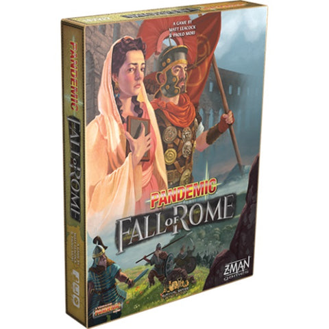 Pandemic: Fall of Rome [Board Game, 1-5 Players]