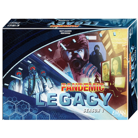 Pandemic: Legacy - Season One - Blue Version [Board Game, 2-4 Players]
