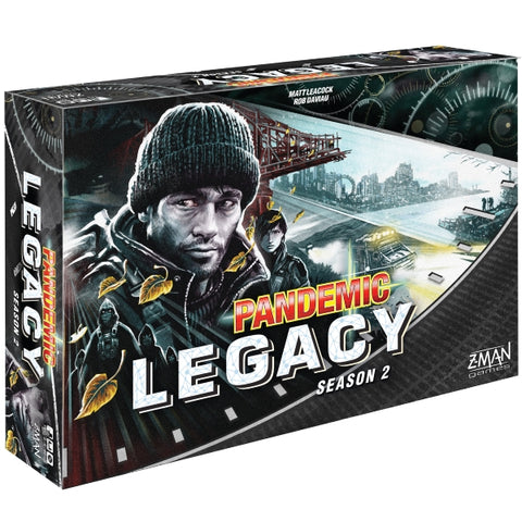 Pandemic Legacy: Season 2 - Black [Board Game, 2-4 Players]