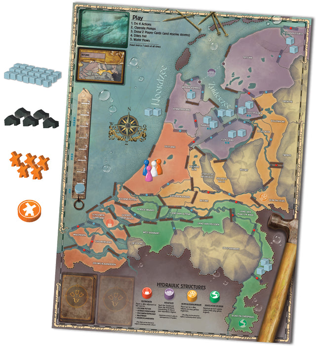 Pandemic: Rising Tide [Board Game, 2-5 Players]