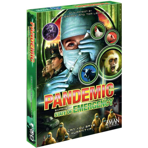 Pandemic: State of Emergency Expansion [Board Game, 2-4 Players]