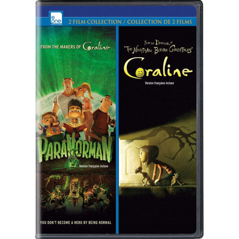 ParaNorman / Coraline Double Feature [DVD Box Set]
