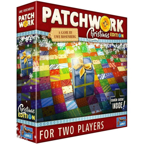 Patchwork - Christmas Edition [Board Game, 2 Players]