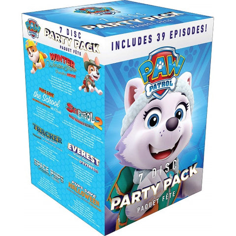 PAW Patrol: 7 Disc Party Pack - Includes 39 Episodes [DVD Box Set]