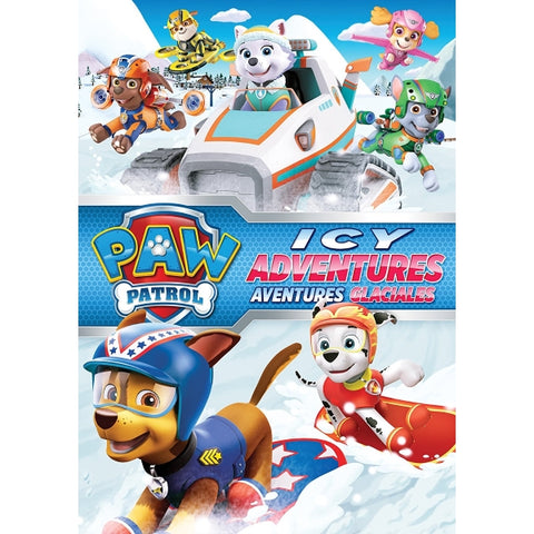 PAW Patrol: Icy Adventures [DVD]