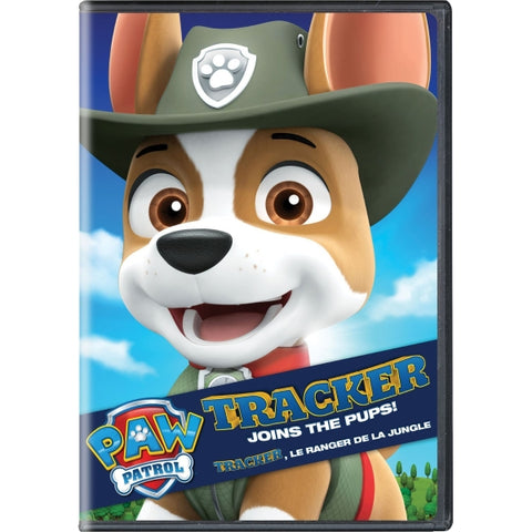 PAW Patrol: Tracker Joins the Pups [DVD]