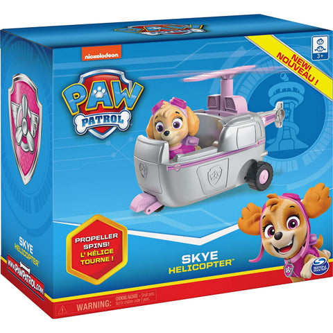 PAW Patrol Skye's Helicopter with Collectible Figure [Toys, Ages 3+]