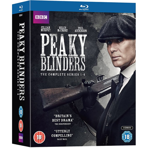 Peaky Blinders: The Complete Series 1-4 [Blu-Ray Box Set]