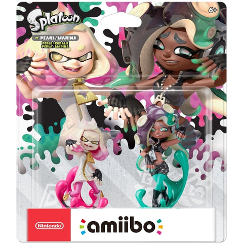 Pearl & Marina Amiibo 2-Pack - Splatoon Series [Nintendo Accessory]
