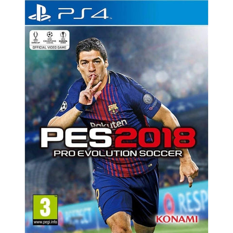 PES Pro Evolution Soccer 2018 [PlayStation 4]