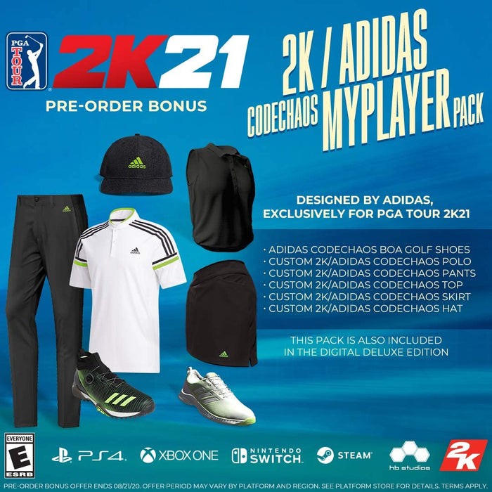 PGA Tour 2K21 [PlayStation 4]