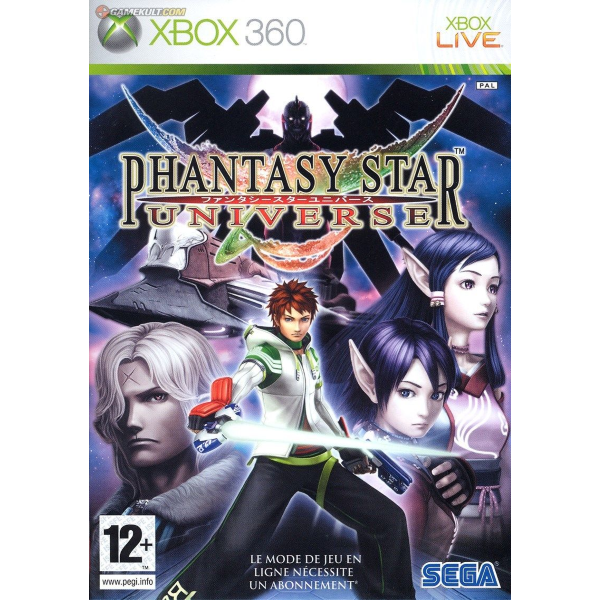 Phantasy Star Universe [Xbox 360]