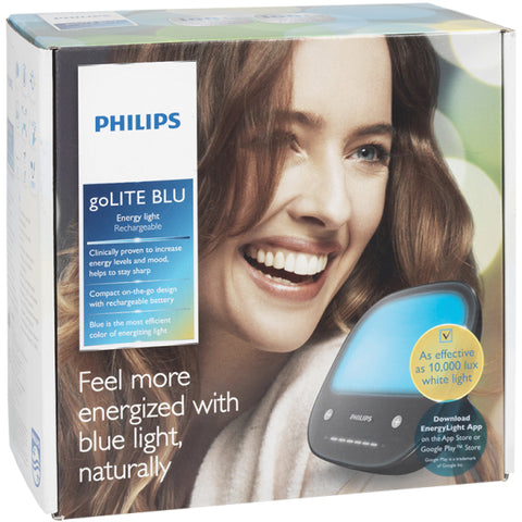 Philips goLITE BLU Energy Light - Portable and Rechargable - HF3432/60 [Electronics]