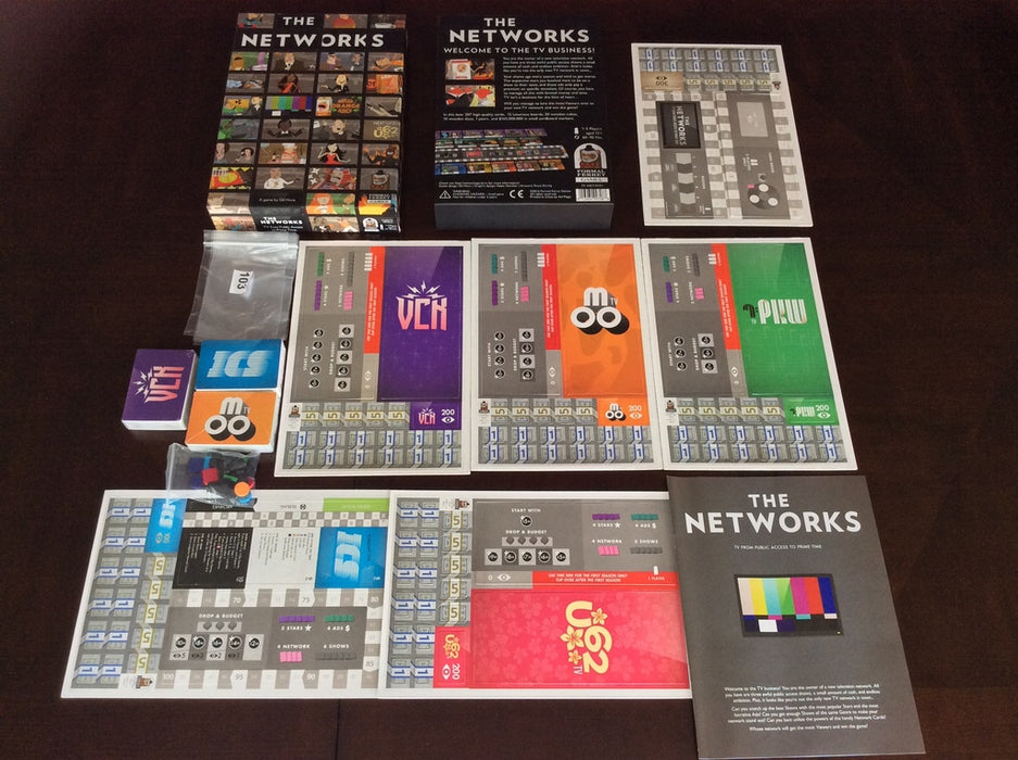 The Networks [Board Game, 1-5 Players]