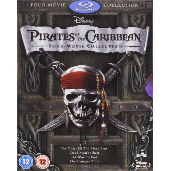 Pirates of the Caribbean: Four-Movie Collection [Blu-Ray Box Set]